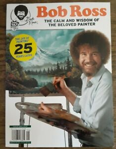 People Specials 2020 Magazine Bob Ross The Joy Of Painting 25 Years Later Book