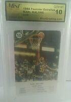 Karl Malone 1988 Fournier NBA Estrellas #16 Graded GEM-MT 10 Utah Jazz