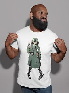 Tank Girl T-Shirt Sexy Punk Comic Men Women Tee Cartoon Retro Cool Gift xmas