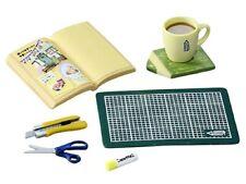 New~~Re-ment Miniatures Pencil Cafe Scrapbook - No.2