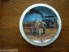 The Danbury Mint Plate  Prairie Gold by Mort Kunstler