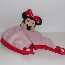 Doudou Souris Minnie Disney - Disneyland - Rose Rouge