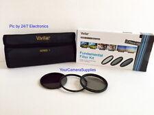 VIVITAR Filter Kit 72mm ND8 UV CPL To CANON VL1 XL2 XL2E XL1E 18-135 mm 28-200mm