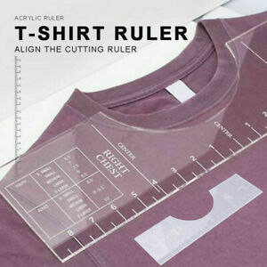 T-Shirt alignment Tool - Ruler - Centering Tool | HTV Alignment | Guide NEW