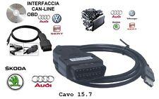 CAVO Software Diagnosi VAG 15.7.1 2015/16 OBD2 AUDI VW SEAT SKODA x AUTO