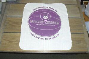 "Kansas State 1988 Basketball Linen - Ahearn to Bramlage - First Game 15 "" x 16"""