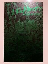 A Nightmare On Elm Street Paranoid #1, green & black Leather Edition, NM+ Avatar
