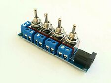 More details for rkpdu5 dpdt toggle power distribution board for bachmann, hornby model railway