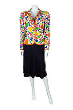 * * Yves Saint Laurent Rive Gauche Henri Matisse Chaqueta de impresión (42)