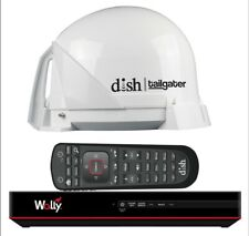 Dish® Tailgater® Satellite Tv Antenna Bundle w/Dish® Wally® Hd Receiver & Cables