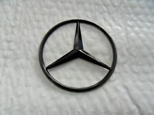 New for Mercedes Benz Gloss Black Star Trunk Emblem Badge 90mm - Free Us Ship