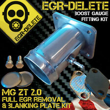 MG ZT ROVER 75 2.0 EGR REMOVAL KIT BLANKING DELETE BYPASS BOOST GAUGE KIT