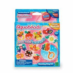 Aqua Beads Dazzling Ring Set - Craft Kit by Aquabeads Kids Children Playset