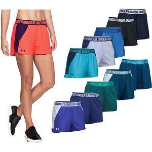 Under Armour Women UA NEW Play Up Mesh 2.0 Running Training Fitness Shorts