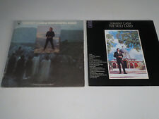 Johnny Cash (5 LP LOT) The Gospel Road / The Holy Land / The Walls Of A Prison