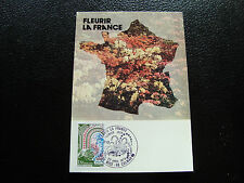 FRANCE - carte 1er jour 22/4/1978 (fleurir la france) (cy45) french