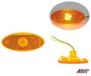 For Renault Master Mk3 / Opel Movano Mk2 1X Amber Side Marker Led Light Lamp