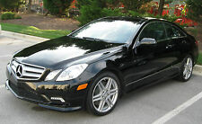 NOREV 2010 MERCEDES BENZ E CLASS COUPE BLACK (DEALER) 1:18*Last One! RARE!