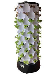 Vertical Aeroponic / Hydroponic 80-pot growing System
