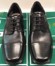 db9440fe77c ECCO Helsinki Cap Toe Oxfords Lace up Tie Black Men 8 8.5 US 42 EU 050174