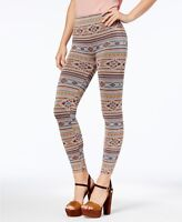 First Looks Womens Navajo Stripe Seamless Leggings Medium/Large -$26 -NWT