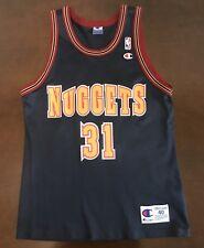 Rare Vintage Champion NBA Denver Nuggets Nick Van Exel Basketball Jersey