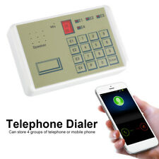 12V Telephone Wired Voice Auto-dialer Burglar Security House Alarm System 20S SS