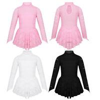 Eiskunstlauf Kleider Mädchen Rollschuhkleidung 110 116 122 128 134 140 152 164