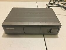 Used Pioneer Cdx-P650 Universal 6 Disc Cd Player Silver With Wiring Harness