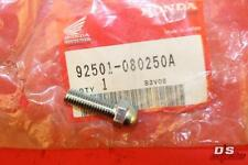 NOS HONDA C50 C70 C90 CBR1000 RVF750 CB750 VFR400 BOLT CAP (8X25) #92501-080250A