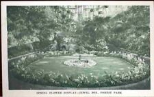(doz) St. Louis MO: Forest Park, Spring Flower Display
