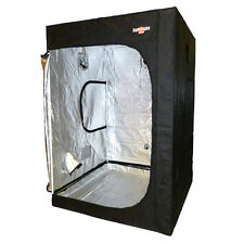 SUPERGRO MAXI GROW TENT MYLAR DARK ROOM HYDROPONIC NEW INDOOR 1.5M x 1.5M x 2.0M