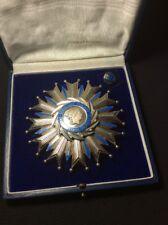 Plaque Grand Officier Ordre National du mérite - Médaille militaire en argent