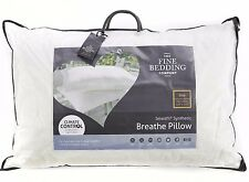 Fine Bedding Company Breathe Light Luxury Pillow Soft Firm Support Hotel Quality