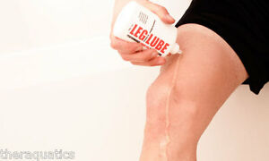 LEG LUBE SHAVE GEL Paraben Free Triathlete Swimming Bald Shaving In Out Shower