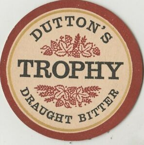 Beer Mat. Dutton's Blackburn Brewery, Blackburn. 1968. BBMCS No055.