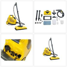 Steam Mop Cleaner Wet Dry Pad Wand Hose Heavy Duty Wheel Canister Storage Bag
