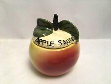 Toni Raymond Apple Sauce Lidded Pot Apple Design