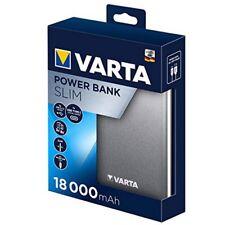 VARTA Chargeur De Batterie Portable Slim Puissance Banque Original 18000mAh