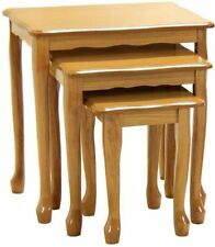 Solid Wood Rectangle Hallway Nested Tables
