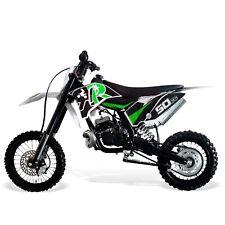 Dirt Bike 50cc-14/12 Wheels, 2 Stroke. Kick Start, Hydraulic Brakes/Forks-GREEN