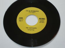 """The Outcasts - I'm In Pittsburgh 7"""" NM - Reissue of Killer 60's Garage Punk bftg"""