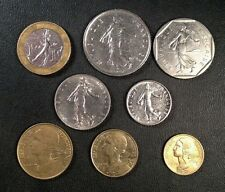 France Coin Lot Full Set of Pre Euro French Coins Free Shipping*!! Franc Centime