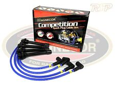 Magnecor 8mm Ignition HT Leads/wire/cable Fiat Uno Turbo Mk2 1.4ie SOHC 1989-95