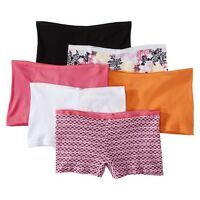 Hanes® Women's Cotton Boy Briefs P649AS 6-Pack