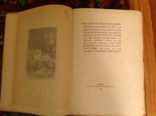 The Book Of The Thousand Nights Nights And One Night .15 Vol. John Payne, limite
