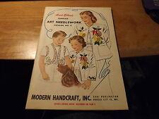 """Vintage 1950s Aunt Ellen's Complete Art Needlework Catalog 66pp 5.75 X 7.75"""""""