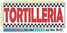 TORTILLERIA BANNER Sign NEW 2x5