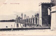 EGYPTE - LE CAIRE - PONT AU BARRAGE.