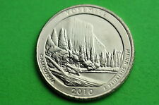 2010-P  BU  Mint State  (YOSEMITE)   US National  Park  Quarter